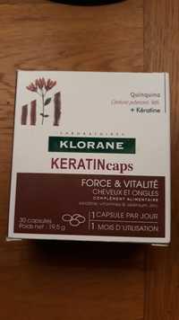 KLORANE - Keratincaps - Force & vitalité cheveux et ongles