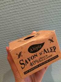 Alepia - Savon d'alep 40% d'huile de baie de laurier