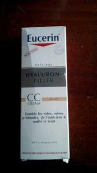 Eucerin - Hyaluron-Filler - CC cream light SPF 15 + Protection UVA