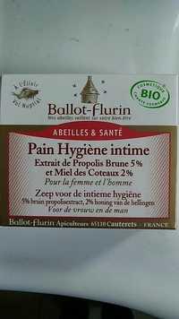Ballot Flurin - Abeilles & santé - Pain hygiène intime