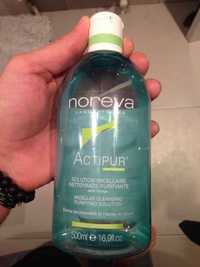 NOREVA - Actipur -  Solution micellaire - Nettoyante purifiante