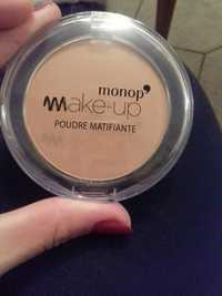 MONOPRIX - Monop' Make-up - Poudre matifiant 04 beige miel