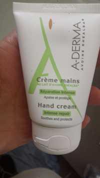 A-Derma - Réparation intense - Crème mains