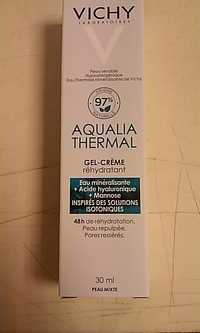 VICHY - Aqualia thermal - Gel-crème réhydratant