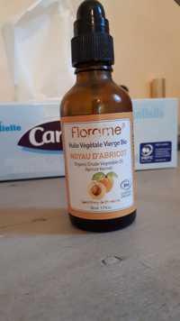 FLORAME - Noyau d'abricot - Huile végétal vierge bio
