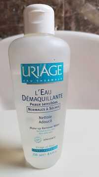 URIAGE - L'eau démaquillante peaux sensibles