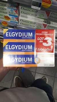 Elgydium - Protection caries - Dentifrice au fluorinol