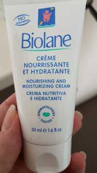 BIOLANE - Crème nourrissante et hydratante