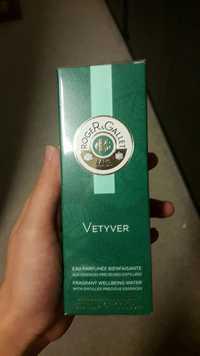 Roger & Gallet - Vetyver - Eau parfumée bienfaisante