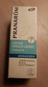 PRANARÔM - Aromaderm - Lotion ongles jaunis