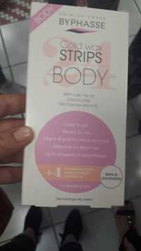 Byphasse - Body - Cold wax strips