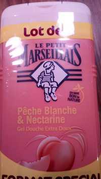 LE PETIT MARSEILLAIS - Pêche blanche & nectarine - Gel douche extra doux