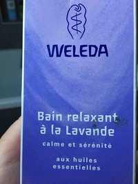 Weleda - Bain relaxant à la lavande