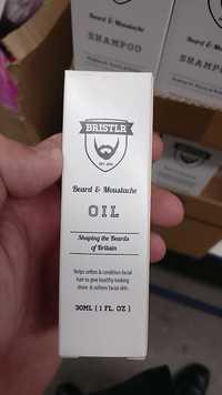 Bristlr - Beard & moustache oil - Shaping the beards of Britain