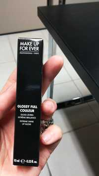 Make up for ever - Glossy Full couleur - Gloss lèvres extrême brillance