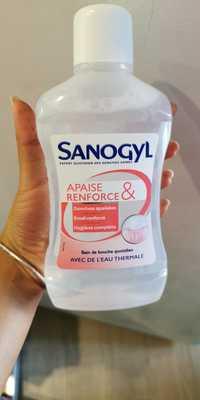 SANOGYL - Apaise & renforce - Bain de bouche quotidien avec de l'eau thermale