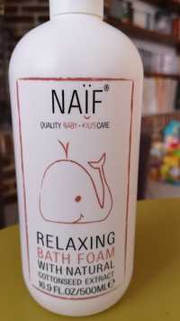 NAÏF - Relaxing bath foam with natural