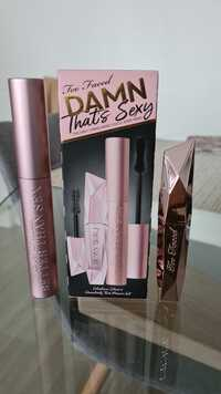 TOO FACED - Damn that's sexy - The only 2 mascaras you'll ever need