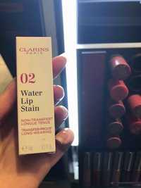Clarins - 02 water lip stain