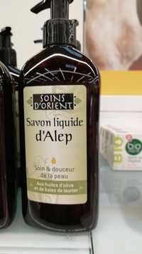 Soins d'Orient - Savon liquide d'Alep