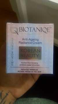 Biotaniqe - Korean beauty - Anti-ageing radiance cream