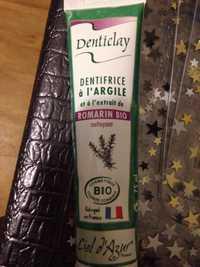 Denticlay - Dentifrice à l'argile et à l'extrait de romarin bio