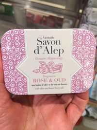 Alepia - Rose & oud - Savon d'alep