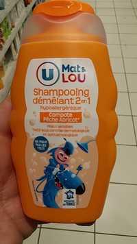 BY U - Mat & Lou Shampooing démêlant 2 en 1