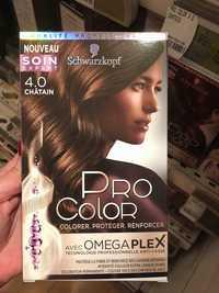 Schwarzkopf - Pro color - coloration permanente 4.0 châtain