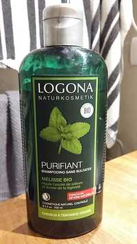 Logona - Mélisse bio - Purifiant shampooing sans sulfates