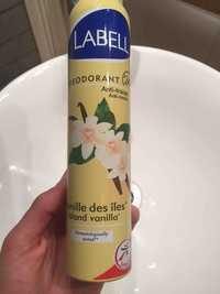 LABELL - Vanille des îles - Déodorant 24h
