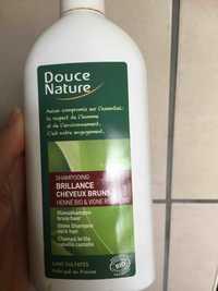 Douce Nature - Shampooing brillance cheveux bruns bio