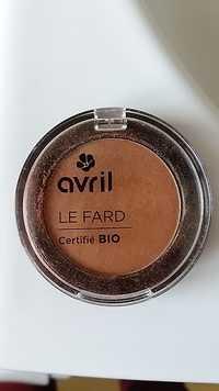 Avril - Fard à paupières bio cuivre irisé