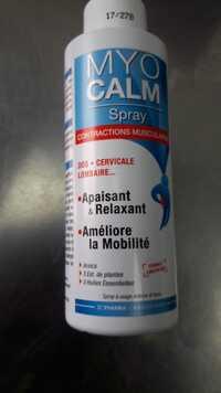 3C Pharma - Myocalm spray contractions musculaires