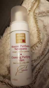 MARY COHR - Mousse purifiante nettoyante visage