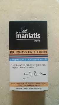 JEAN-MARC MANIATIS - Brushing pro 1 mois