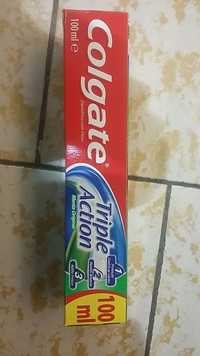 COLGATE - Triple action -  Dentifrico com fluor