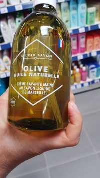 Studio savon - Olive huile naturelle - Crème lavante mains au savon liquide de Marseille