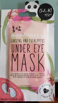 Awakening - Under eye mask ginseng and eucalyptus