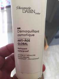 Pharmacie Dabin Vallet - Démaquillant osmotique Anti-âge global