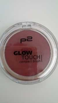 P2 Cosmetics - Glow touch - Compact blush 070 touch of garnet
