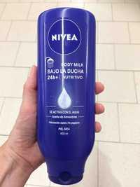 NIVEA - Body milk bajo la ducha