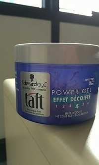 Schwarzkopf - Taft - Power gel effet décoiffé 4