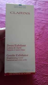 CLARINS - Doux exfoliant - Lotion de clarté tamarin et lamier blanc