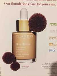 Clarins - Skin illusion - Teint naturel hydratation SPF 15