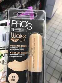 LES COSMÉTIQUES DESIGN PARIS - Pro's wake up - Stick anti-cernes 01 clair