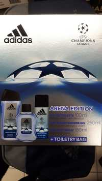 ADIDAS - Arena Edition - Eau de toilette, Gel douche, Déodorant spray