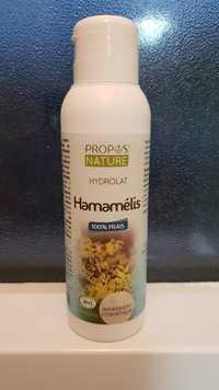 Propos'Nature - Hydrolat hamamélis bio 100% frais