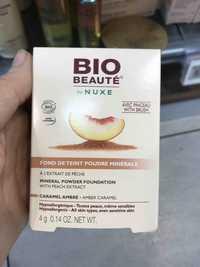 NUXE - Bio-beauté - Fond de teint poudre minérale caramel ambré