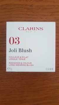 Clarins - 03 Joli blush couleur & éclat longue tenue